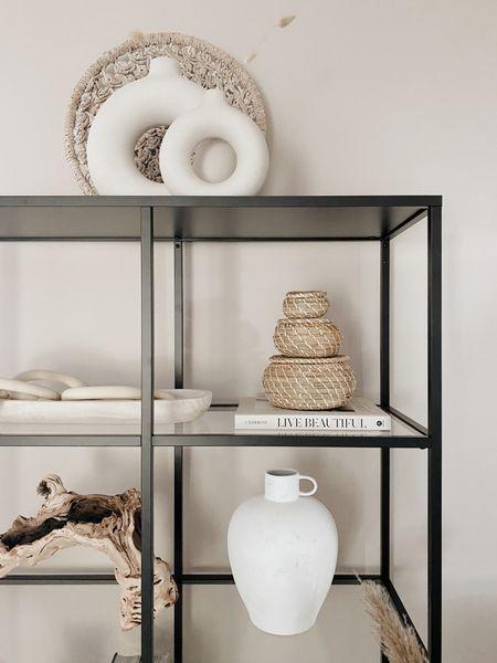 Shelf decor http://liketk.it/3dVsX #liketkit @liketoknow.it #LTKhome #LTKunder50 #LTKunder100 @liketoknow.it.home