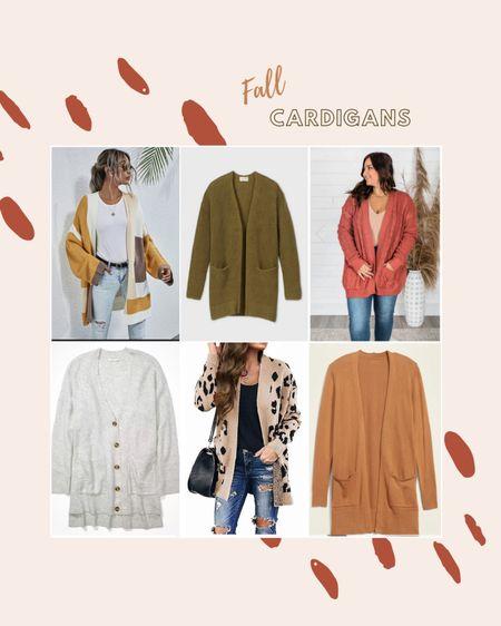 Favorite cardigans for fall! Olive green cardigan, target cardigan, SHEIN, old navy, fall colors, earth tone cardigan, fall cardigan,striped cardigan, animal print cardigan, cozy cardigan, rust cardigan, fall sweater, cozy sweater.   http://liketk.it/2XmBX #LTKstyletip #LTKsalealert #LTKunder50 #LTKfall #liketkit @liketoknow.it