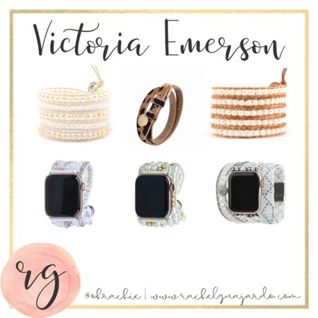 I love these Apple Watch bands from Victoria Emerson ❤️ Also their classic wrap bracelets which make awesome gifts. #StayHomeWithLTK #LTKunder50 #liketkit @liketoknow.it http://liketk.it/2X6mI