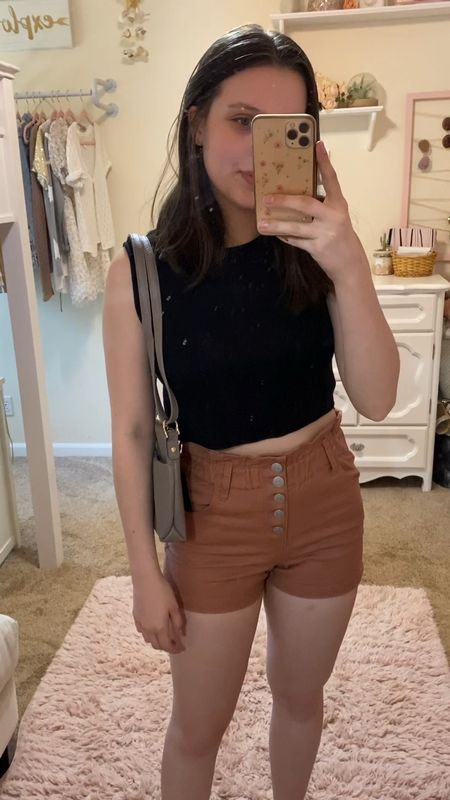 Target style outfit! All true to size💓 #targetstyle #target #shorts #sneakers #summeroutfits #summerstyle #summerfashion   #LTKitbag #LTKstyletip #LTKSeasonal