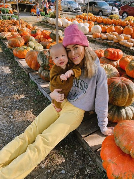 A day at the pumpkin patch🎃  #LTKfamily #LTKstyletip #LTKunder100