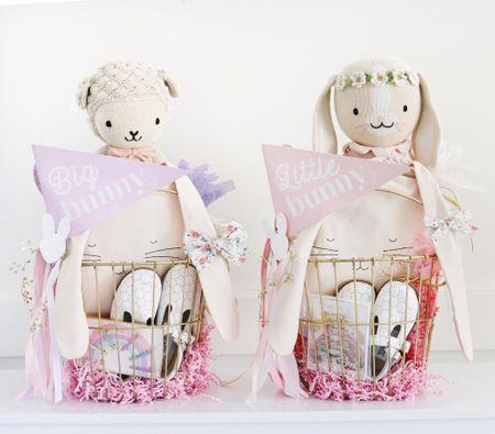 Girls Easter Baskets   #LTKkids #LTKSeasonal #LTKfamily