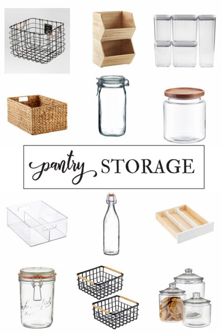 Getting organized with useful pantry storage pieces helps alleviate the stress of not having enough space in your kitchen. Shop my favorite pieces on the LIKEtoKNOW.it shopping app. http://liketk.it/35vDX @liketoknow.it #liketkit @liketoknow.it.home #LTKNewYear #StayHomeWithLTK #LTKhome