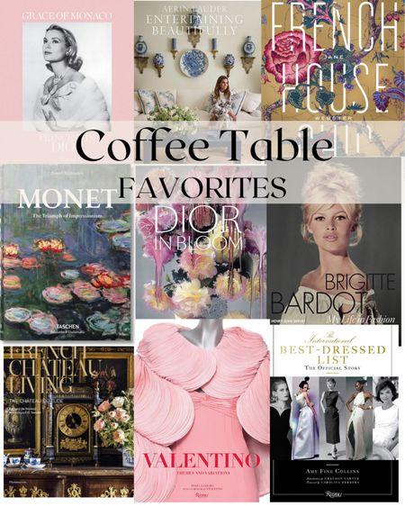 Pretty coffee table books for feminine home decor or vintage lovers http://liketk.it/38xRz #liketkit @liketoknow.it #LTKunder100 #LTKunder50 #LTKhome