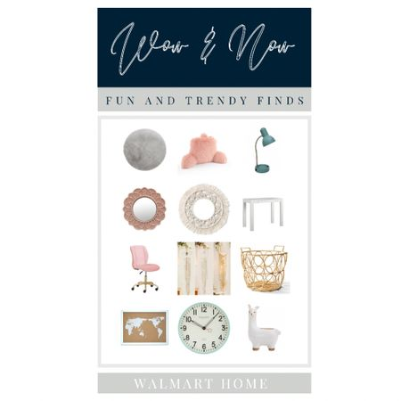 Wow and Now at Walmart fun and trendy home finds. Office decor.   #LTKkids #LTKhome #LTKunder50