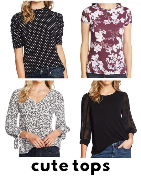 Check out these cute tops that are part of the Nordstrom Anniversary Sale! There is so much to choose from! Check these nice versatile shirts perfect as mom wear or for date night.   #LTKstyletip #LTKsalealert #LTKunder100
