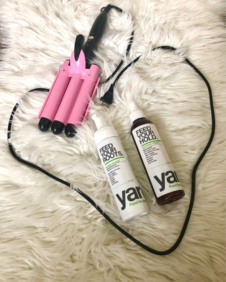 The best!! I love my new waves, and these products are 100%! They are definitely Noel_Naturally approved! 🌸 The wave tool works so great and it's $20!! 🙌 The hair products are vegan, gluten and paraben free! I love them!!    Shop your screenshot of this pic with the LIKEtoKNOW.it shopping app    http://liketk.it/3fz8k #liketkit @liketoknow.it #LTKunder50 #LTKbeauty