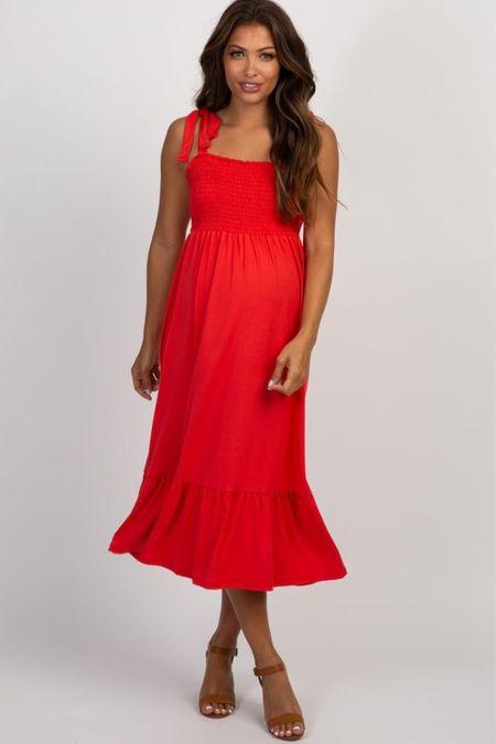 Pink Blush maternity is having a major sale today! Use code ONEDAYONLY for 40% off one item + 20% off the rest! Maternity dresses, maternity wedding guest dress, wedding guest dress, maternity style, bump friendly.   http://liketk.it/3gKAt #liketkit @liketoknow.it   #LTKbump #LTKsalealert #LTKstyletip