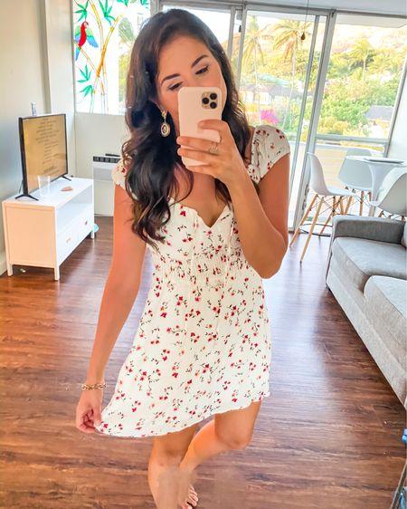 Smocked mini dress under $50 http://liketk.it/2U4Yf #LTKunder50 #LTKunder100 #LTKstyletip #liketkit @liketoknow.it