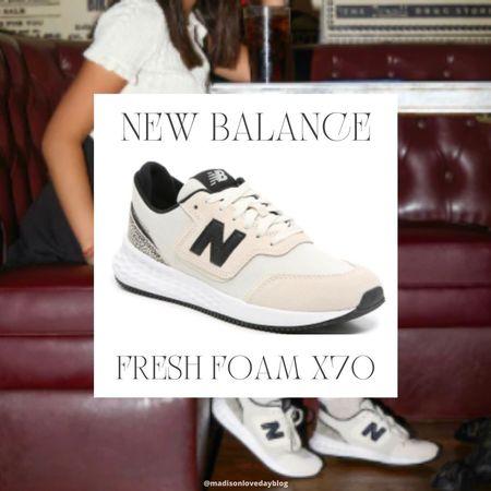 dsw, new balance fresh foam x70 sneakers, shoes, #LTKbacktoschool