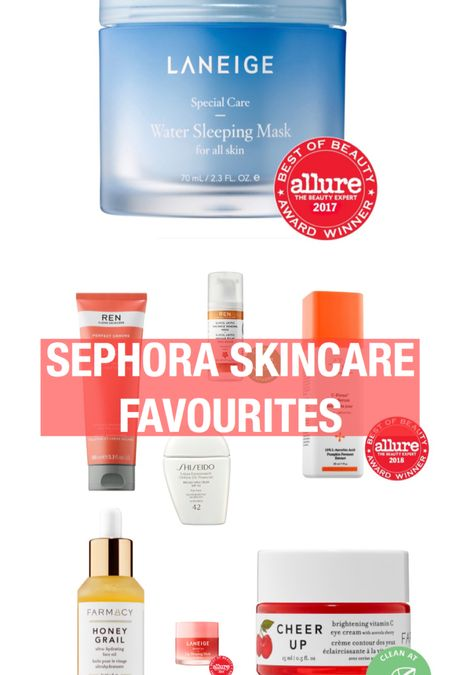 These are my FAVOURITE Sephora Skincare products right now. With the #sephorasale it is the best time to get them and try them out!   http://liketk.it/2Nrxr   #liketkit @liketoknow.it #sephoravibrouge #sephora #farmacy #laneige #renskincare #jetlagmask #shiseido #sunscreen #facemoisturizer #eyecream #vitamincserum #drunkelephant