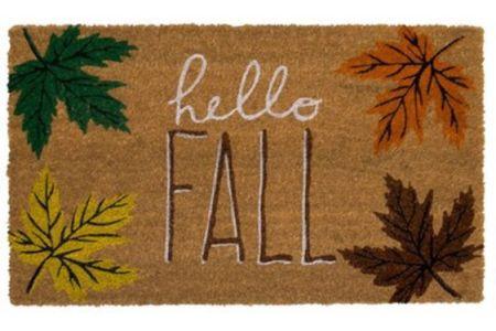 Hello Fall Dormat | fall mat | hello pumpkin mat | hello fall mat | Walmart finds | home decor #LTKhome #LTKunder50 @liketoknow.it #liketkit http://liketk.it/2VvHg