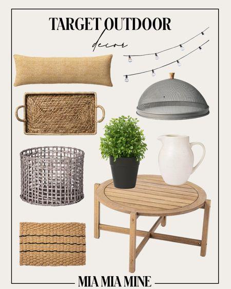 Target patio furniture/ Target outdoor decor / home decor  #target  #LTKhome #LTKunder100