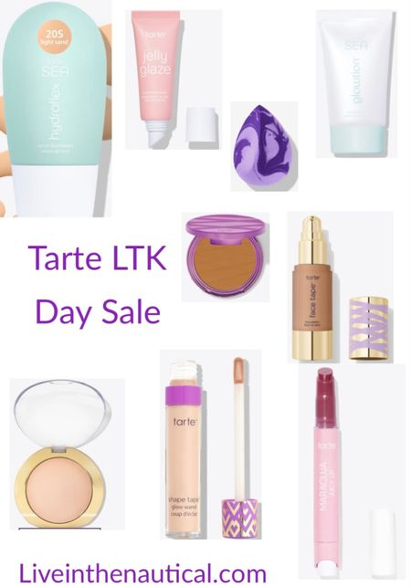 SALE ALERT!  With LTK Day now is the time to snag some of your favorites from Tarte as they are on sale!   #LTKSale #LTKDay #LTKbeauty