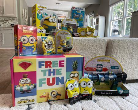 Minions summer fun  Summer toys Movies for kids   http://liketk.it/3hfx8 #liketkit @liketoknow.it