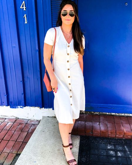 #LTKunder50 #LTKstyletip #LTKspring http://liketk.it/2Q4Ki #liketkit @liketoknow.it got this dress in a small and I loved it so much once I got it out of the store! Highly recommend!