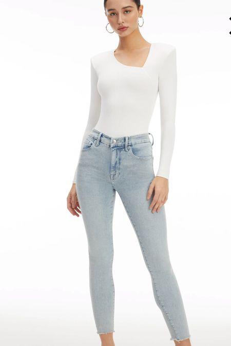 Good American jeans on sale 50% off plus 20% off with code   #LTKcurves #LTKsalealert #LTKunder100
