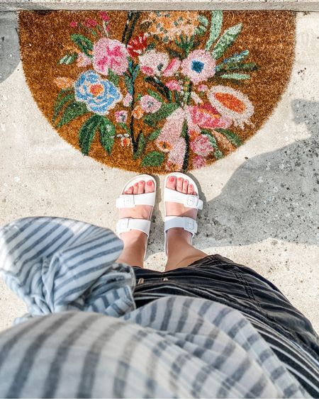 The prettiest little doormat. 💕🌿   You can instantly shop my looks by following me on the LIKEtoKNOW.it shopping app or link in my bio.  #LTKbaby #LTKfamily #LTKshoecrush @liketoknow.it @liketoknow.it.home http://liketk.it/3g4ja #liketkit