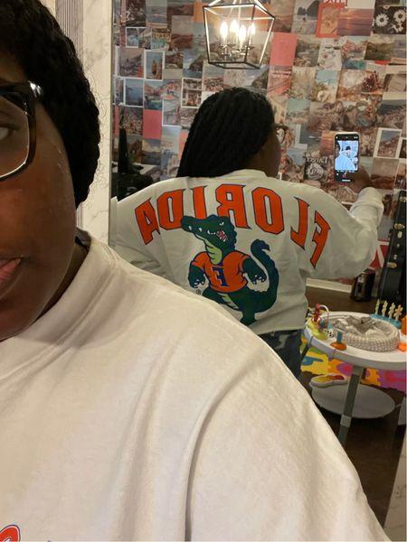 Loving this Florida Gators spirit jersey & representing my alma mater! It's 30% off today   #LTKbacktoschool #LTKcurves #LTKunder50