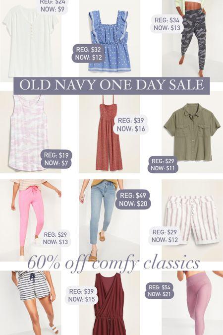 Old Navy One Day Sale: 60% off Comfy Classics    #liketkit @liketoknow.it http://liketk.it/3hOOe