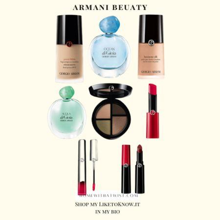 Armani Beauty on sale with LTK Day! http://liketk.it/3hjwo #liketkit @liketoknow.it #LTKDay #LTKbeauty #LTKsalealert