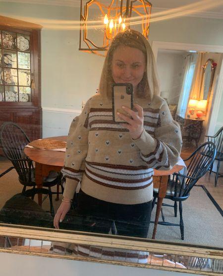 Coziest sweater for #WFH or Christmastime errands. Currently 20% off!   #LTKunder100 #StayHomeWithLTK #LTKgiftspo