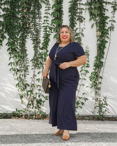 Jumpsuits are perfect for summer and as we transition into fall. Linking plus size options.   #LTKstyletip #LTKcurves #LTKunder100