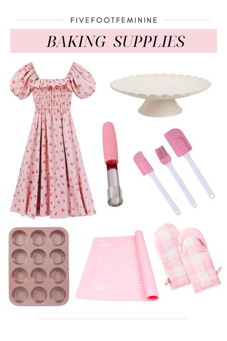 Pink baking supplies / pink cookware     #LTKhome #LTKfamily #LTKSeasonal
