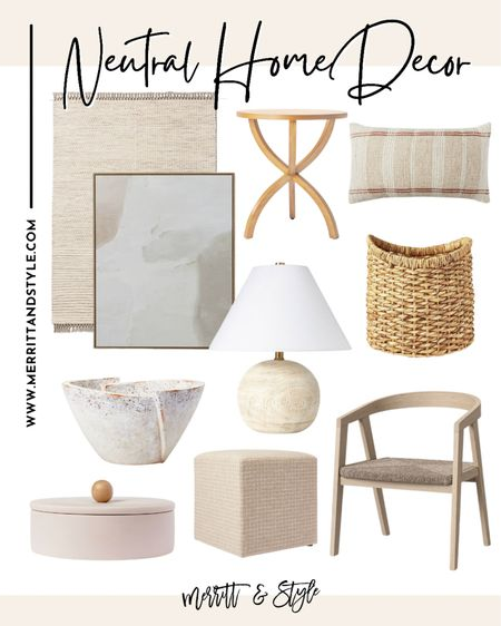 Target home decor neutral home fines studio McGee for target home accents throw pillow storage basket   #LTKhome #LTKunder50 #LTKstyletip