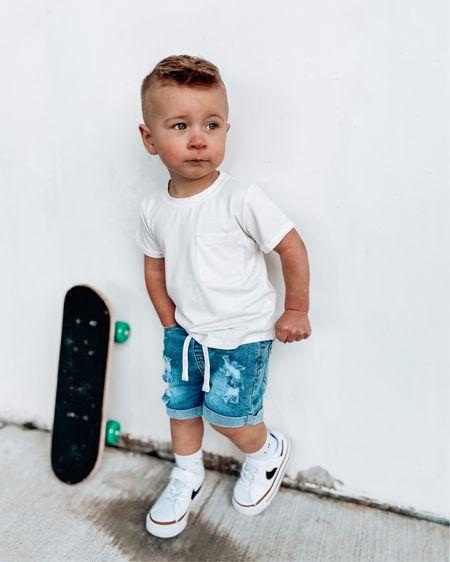 Toddler nikes & skateboard http://liketk.it/3b2jb #liketkit @liketoknow.it #LTKfit #LTKkids #LTKshoecrush @liketoknow.it.family Shop your screenshot of this pic with the LIKEtoKNOW.it shopping app