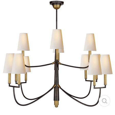 We finally decided on a chandelier for our foyer, and perfect timing to take advantage of a 20% off Labor Day sale! Classic with gorgeous clean lines… I can't wait to see this one installed!   #laborday #labordaysale #chandelier #foyer #foyerchandelier #lighting #decor #inspo #home #lightfixture #traditional #transitional   #LTKsalealert #LTKhome