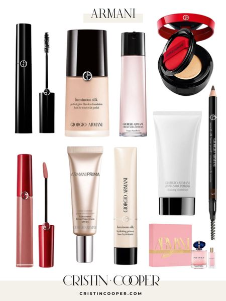 #LTKDAY Armani is 25% off! Foundation, mascara, lipgloss, eyeliner, powder, primer, perfume http://liketk.it/3hm7C #liketkit @liketoknow.it