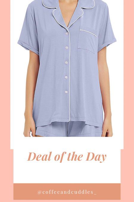Amazon Deal of the Day!  Pajama Set for $16 💙  #LTKsalealert #LTKunder50 #LTKstyletip   http://liketk.it/3f3LV   #liketkit @liketoknow.it