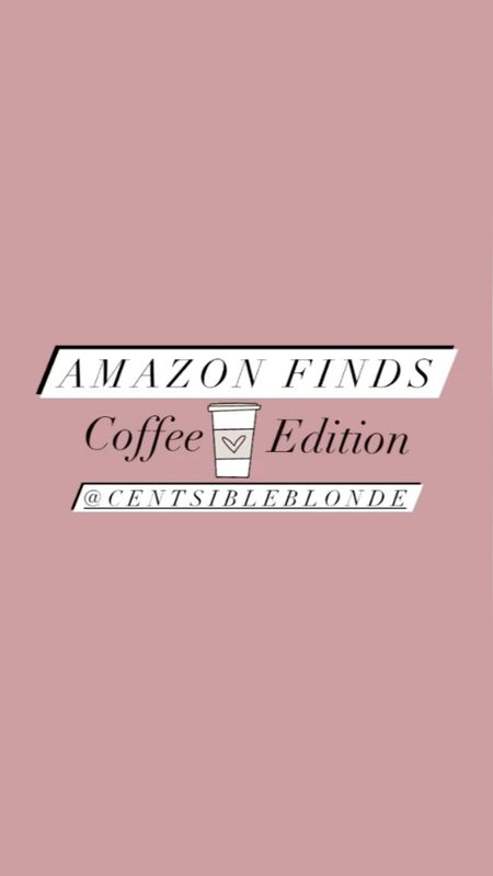 Amazon coffee finds for the kitchen, Amazon kitchen finds. Affordable kitchen gadgets, coffee bar, milk frother, cold brew.    #LTKhome #LTKsalealert #LTKunder50