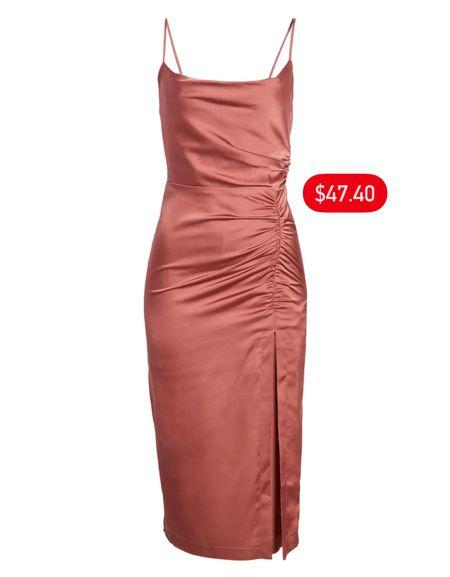 The perfect wedding guest dress only $47.40! 💥   #LTKunder50 #LTKSeasonal #LTKsalealert