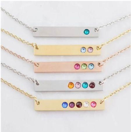 Customized birthday necklaces   #LTKGiftGuide #LTKstyletip #LTKunder50