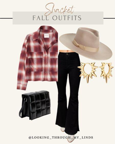 Shacket | shirt jacket | shackets | amazon finds | flare jeans  #LTKunder50 #LTKstyletip #LTKSeasonal