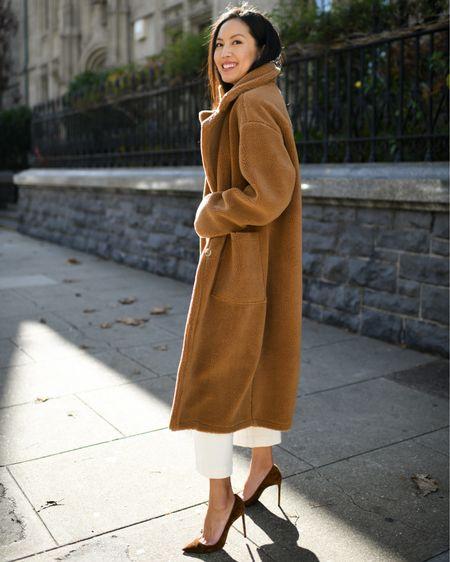 Teddy coat ❤️ (and 20% off today!)   http://liketk.it/2HiMz #liketkit @liketoknow.it #LTKsalealert #LTKunder100 #LTKunder50