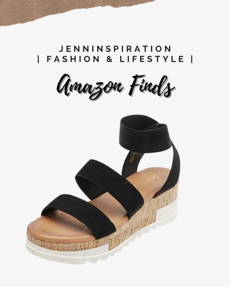 Platform black strap sandals #liketkit @liketoknow.it http://liketk.it/3gJbx You can instantly shop my looks by following me on the LIKEtoKNOW.it shopping app #LTKstyletip #LTKsalealert #LTKtravel