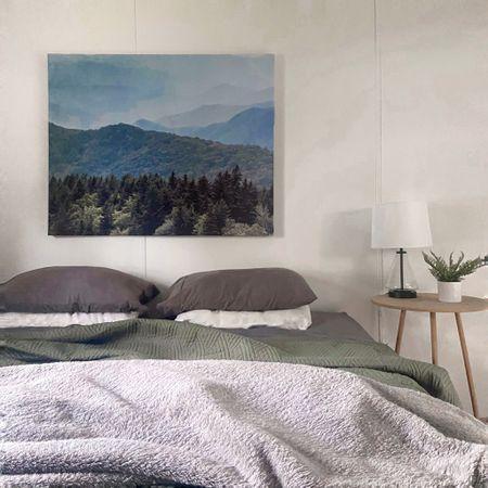 Cozy and minimal bedroom decor #bedroomdecor #guestbedroom #simplebedroom   #LTKhome