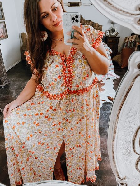 Free people dress on clearance!!! One of my favorite buys this summer.    #LTKbeauty #LTKstyletip