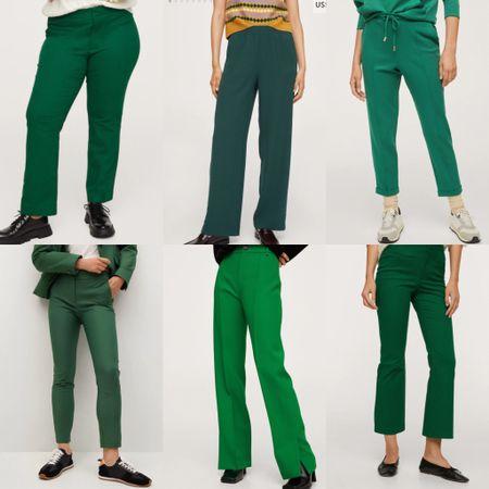 Green pants are a must!! 💚💚💚  #LTKSeasonal #LTKHoliday #LTKunder100