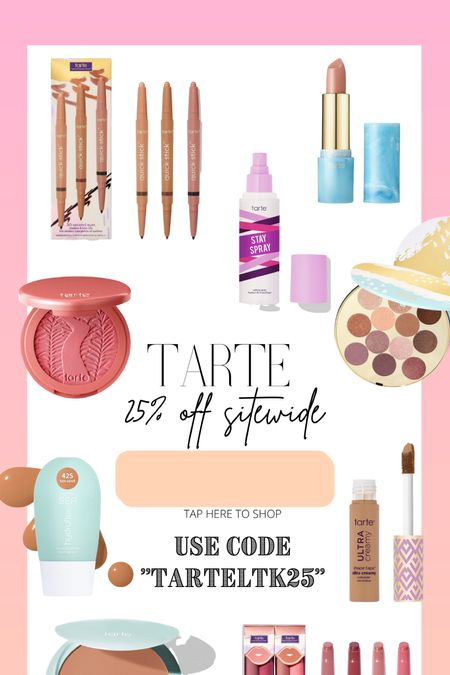 25% off Tarte products!