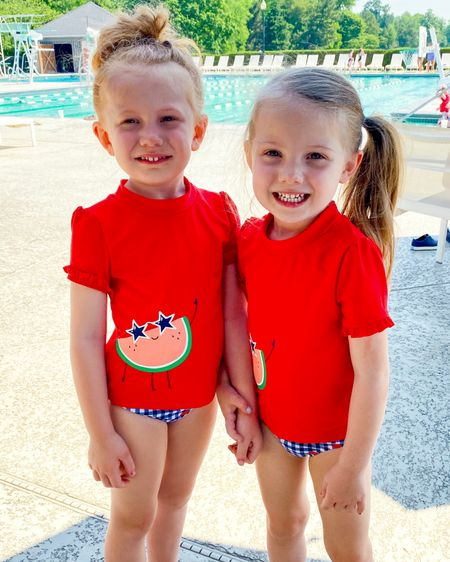 Watermelon toddler 2 piece swimsuit http://liketk.it/3g8AS #liketkit @liketoknow.it #LTKunder50 #LTKkids @liketoknow.it.family