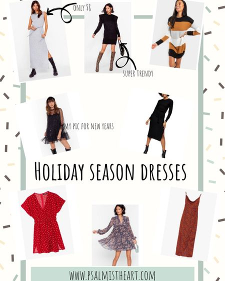 Perfect dresses for Christmas, Thanksgiving and New Years Eve 😋 http://liketk.it/305Ij #liketkit @liketoknow.it