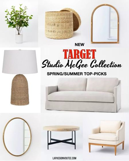The new Studio Mcgee Spring/Summer collection is trending hot right now. Rounded up some favorites that haven't sold out yet.  #LTKhome #LTKSeasonal #LTKfamily