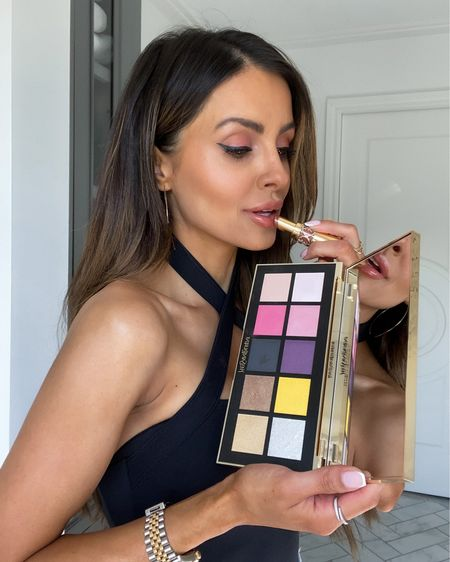 LTK Day beauty picks Use code LTKLOVE for 30% off YSL Rouge Volupté Lipstick in shade 121  YSL beauty eyeshadow kit in Paris shade   http://liketk.it/3hnma #liketkit @liketoknow.it #LTKDay #LTKbeauty #LTKsalealert