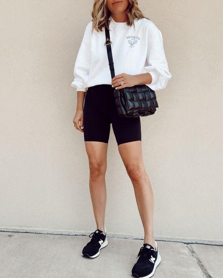 Sweatshirt 20% off, new balance sneakers tts #liketkit http://liketk.it/3hwk6 @liketoknow.it
