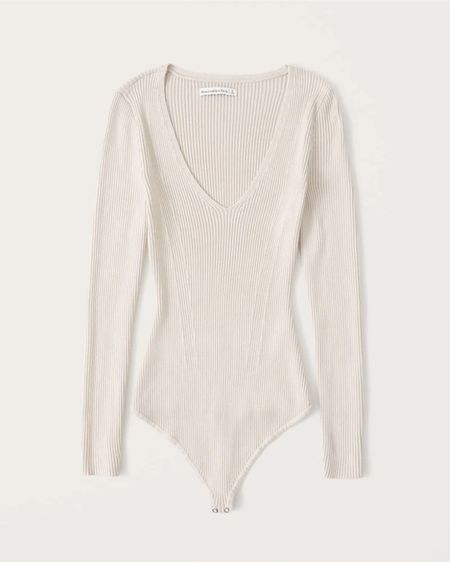 Gorgeous ribbed bodysuit. New arrival from Abercrombie