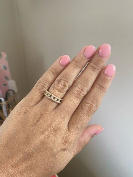 I'm such a ring girl & I love this crystal ring from the Nordstrom Anniversary Sale! #NSALE   #LTKsalealert #LTKstyletip #LTKunder50